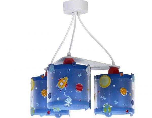 Ango 41344 - Planets κρεμαστό τρίφωτο φωτιστικό οροφής