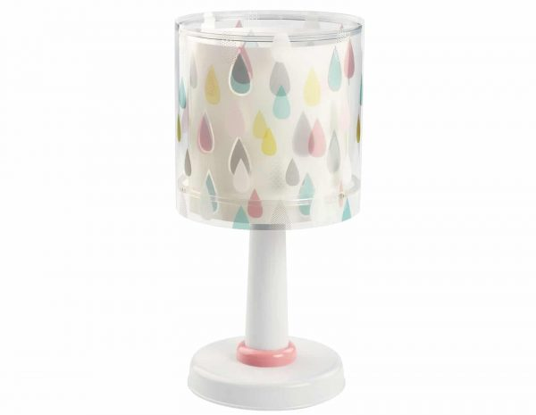 Ango 41431 - Color Rain κομοδίνου εφηβικό φωτιστικό διπλού τοιχώματος