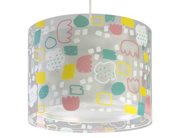 Στρόγγυλο παιδικό φωτιστικό οροφής μεγάλο σε μέγεθος και σχεδιασμένο για γενικό φωτισμό. Φωτίζει και προσθέτει διασκεδαστικό χαρακτήρα και χρώμα σε κάθε παιδικό δωμάτιο. Παρέχει ομοιόμορφο και άπλετο φωτισμό δημιουργώντας περιβάλλον που ενθαρρύνει τα παιδιά να επιδοθούν σε ότι τους αρέσει περισσότερο - διασκέδαση και δημιουργικότητα! Απόλυτα ασφαλές ώστε τα παιδιά να μπορούν να μελετήσουν