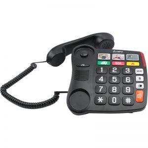 Olympia 4500 Ενσύρματο τηλέφωνο για ηλικιωμένους με μεγάλα πλήκτρα