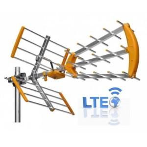 Κεραία Τηλεοράσεως WC239Ε Τριπλής Λήψεως με Φίλτρο LTE