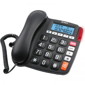 Olympia 4520 Ενσύρματο τηλέφωνο για ηλικιωμένους με φωτιζόμενη οθόνη