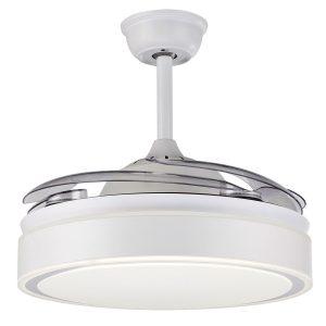 Ανεμιστήρας Οροφής με Φως και Τηλεχειριστήριο 5028-W