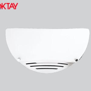 Απλίκα Τοίχου Λευκή-Χρώμιο E27 MUZO
