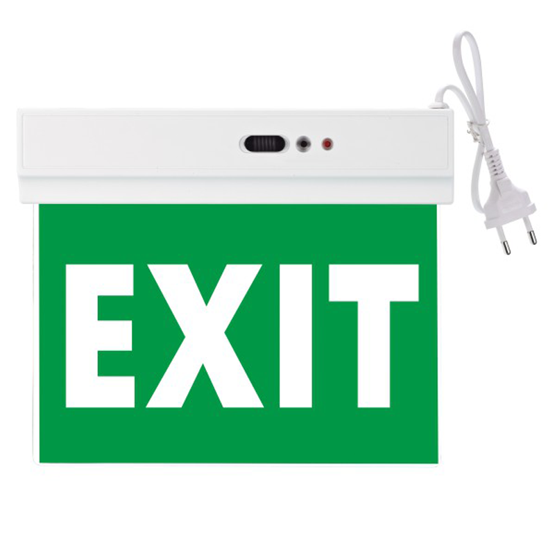 Φωτιστικό Ασφαλείας LED Κρεμαστό Τοίχου ή Οροφής μίας όψεως 3W 5635