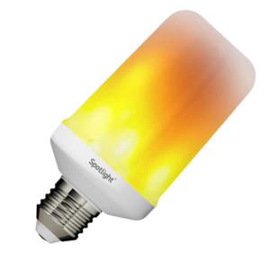 Λάμπα LED 5W E27 Φλόγα Κόκκινη 5729
