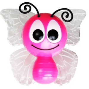 Φως Νυκτός LED Πεταλούδα 1W RGB Με Αισθητήρα Μέρας/Νύχτας Spotlight 6255