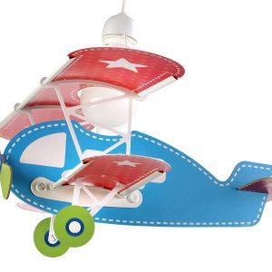 Ango 54002 - Baby Planes παιδικό φωτιστικό οροφήςσε σχήμα αεροπλάνου γαλάζιο