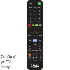 OSIO OST-5003-SO ΤΗΛΕΧΕΙΡΙΣΤΗΡΙΟ ΓΙΑ ΤΗΛΕΟΡΑΣΕΙΣ SONY