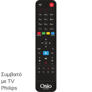 OSIO OST-5004-PH ΤΗΛΕΧΕΙΡΙΣΤΗΡΙΟ ΓΙΑ ΤΗΛΕΟΡΑΣΕΙΣ PHILIPS