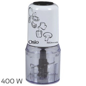 OSIO OMC-2312W MULTI CHOPPER 400W 2 ΛΕΠΙΔΕΣ ΛΕΥΚΟ
