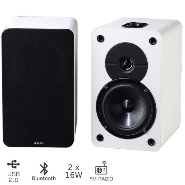 AKAI ABX-T4SS ΗΧΕΙΑ BLUETOOTH 2.0 ΜΕ USB ΚΑΙ FM – 32W
