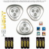 HEITECH 04002616 ΦΩΤΑΚΙ  LED «PUSH ME-SWITCH ON-OFF» 3 ΤΜΧ