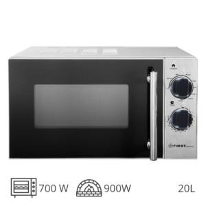FIRST AUSTRIA FA-5002-4 INOX ΦΟΥΡΝΟΣ GRIIL 900W & ΜΙΚΡΟΚΥΜΑΤΩΝ 700W – 20L