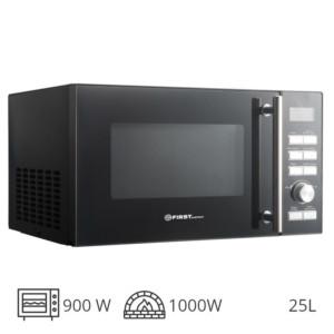 FIRST AUSTRIA FA-5002-5 INOX ΦΟΥΡΝΟΣ GRIIL 1000W & ΜΙΚΡΟΚΥΜΑΤΩΝ 900W – 25L