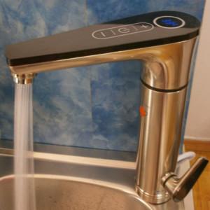 Ταχυθερμαντήρας JN10 Inverter της Cronus Χρυσό Βρύσης με Ένδειξη Θερμοκρασίας