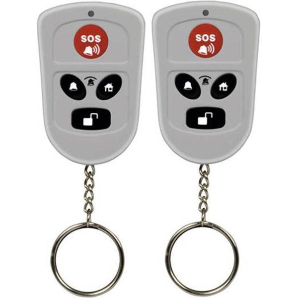 55110672-0001-Olympia 5906 Ασύρματα χειριστήρια συναγερμού μπρελόκ με κουμπί SOS 2 τμχ