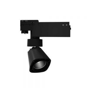 Σποτ Ράγας LED Ρυθμιζόμενο 12W 3000K Μαύρο Spotlight 5935