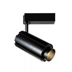 Σποτ Ράγας LED Ρυθμιζόμενο 30W με Δέσμη 15°έως 60° 3000K Μαύρο Spotlight 5944