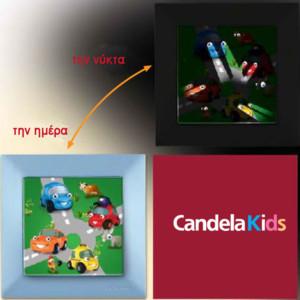 6010010-98-Διακόπτης CANDELA Kids Απλός για αγόρια