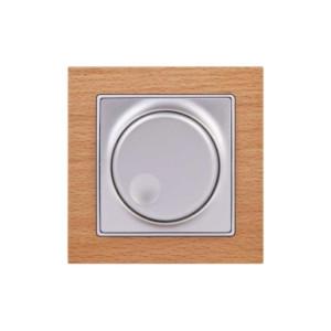 Dimmer A/R Πατητό 300VA Elitra Plus Wood