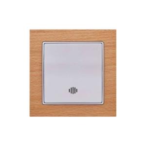 Μπουτόν με Φως 230V Elitra Plus Wood