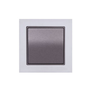 Διακόπτης Απλός Elitra Plus Metal