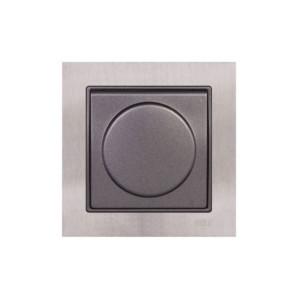 Πρίζα Σούκο με Κάλυμμα Elitra Plus Metal
