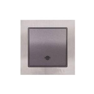 Μπουτόν με Φως 230V Elitra Plus Metal
