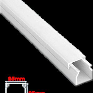 Κανάλι Eco 25x25mm Απλό