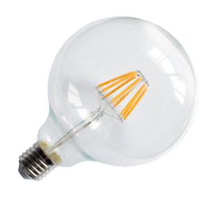 Λάμπα LED Filament Νήματος Vintage Globe 8W G95 E27