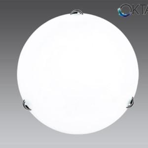 Πλαφονιέρα Οροφής Λευκή Ø30 1xE27 ATHENA
