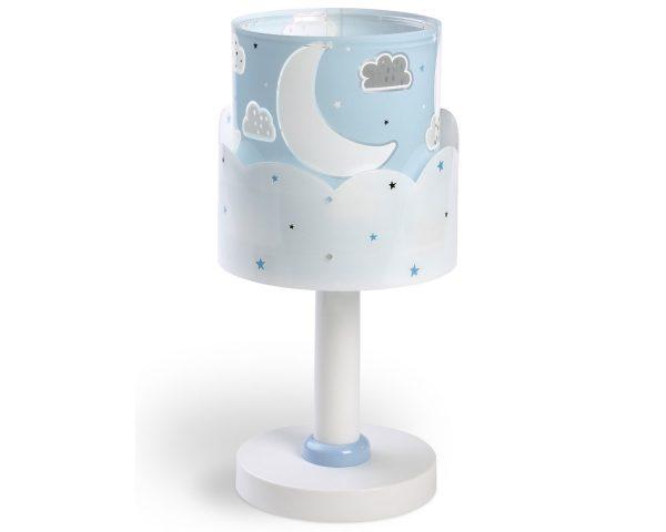 Κλασικής σχεδίασης παιδικό φωτιστικό κομοδίνου με διπλό τοίχωμα. Καλωσορίστε το παιδί σας σε ένα δωμάτιο πλημμυρισμένο από μαγεία με αυτό το φωτιστικό κομοδίνου. Προσθέτει διασκεδαστικό χαρακτήρα και χρώμα σε κάθε παιδικό δωμάτιο. Παρέχει ομοιόμορφο και άπλετο φωτισμό δημιουργώντας περιβάλλον που ενθαρρύνει τα παιδιά να επιδοθούν σε ότι τους αρέσει περισσότερο – διασκέδαση και δημιουργικότητα! Απόλυτα ασφαλές ώστε τα παιδιά να μπορούν να μελετήσουν