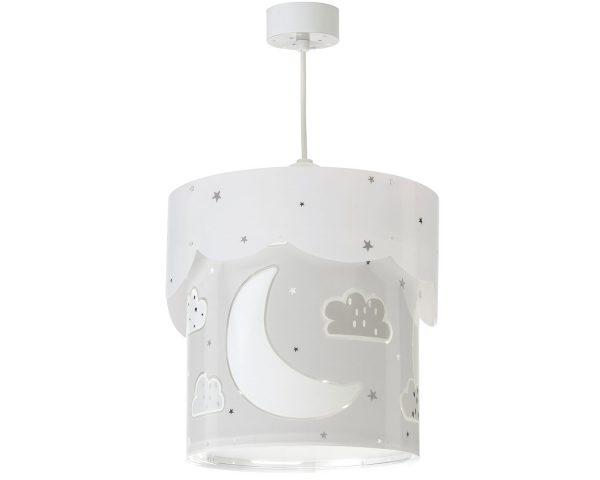 Ango 61232 E - Moon Gray κρεμαστό παιδικό φωτιστικό οροφής διπλού τοιχώματος