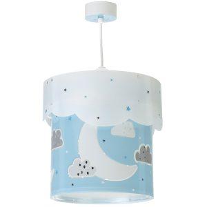 Ango 61232 T - Moon Blue κρεμαστό παιδικό φωτιστικό οροφής διπλού τοιχώματος