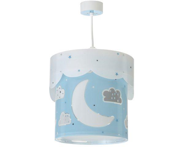 Στρόγγυλο παιδικό φωτιστικό οροφής σχεδιασμένο για γενικό φωτισμό. Φωτίζει και προσθέτει διασκεδαστικό χαρακτήρα και χρώμα σε κάθε παιδικό δωμάτιο. Παρέχει ομοιόμορφο και άπλετο φωτισμό δημιουργώντας περιβάλλον που ενθαρρύνει τα παιδιά να επιδοθούν σε ότι τους αρέσει περισσότερο - διασκέδαση και δημιουργικότητα! Απόλυτα ασφαλές ώστε τα παιδιά να μπορούν να μελετήσουν