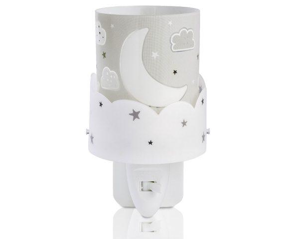 Παιδικό φωτιστικό νυκτός που εκπέμπει απαλό καθησυχαστικό φως για να βοηθήσει τους μικρούς μας φίλους να κοιμηθούν όλη τη νύχτα. Η τεχνολογία LED που χρησιμοποιείται εγγυάται τη μεγάλη διάρκεια ζωής του