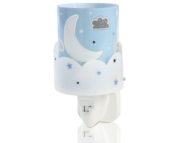 Ango 61235 T - Moon Blue φωτιστικό νύκτας πρίζας LED