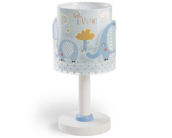 Ango 61331 T - Little Elephant Blue κομοδίνου παιδικό φωτιστικό διπλού τοιχώματος