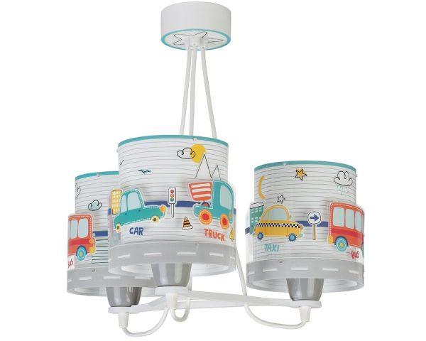 Ango 61687 - Baby Travel κρεμαστό τρίφωτο φωτιστικό οροφής