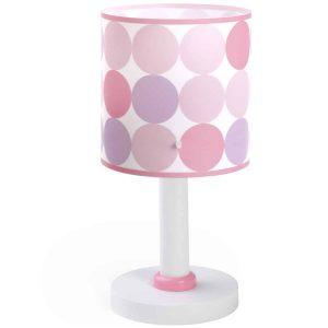 Ango 62001 S - Colors Pink κομοδίνου παιδικό φωτιστικό