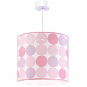Ango 62002 S - Colors Pink κρεμαστό παιδικό φωτιστικό οροφής