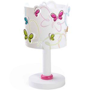 Ango 62141 - Butterfly κομοδίνου παιδικό φωτιστικό με πεταλούδες