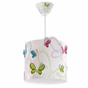 Ango 62142 - Butterfly κρεμαστό παιδικό φωτιστικό οροφής