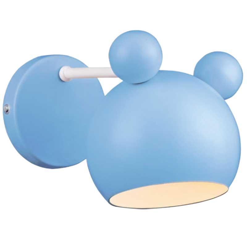 Απλίκα Παιδική Mickey Μεταλλική Μπλε 955MICKEY1W-B