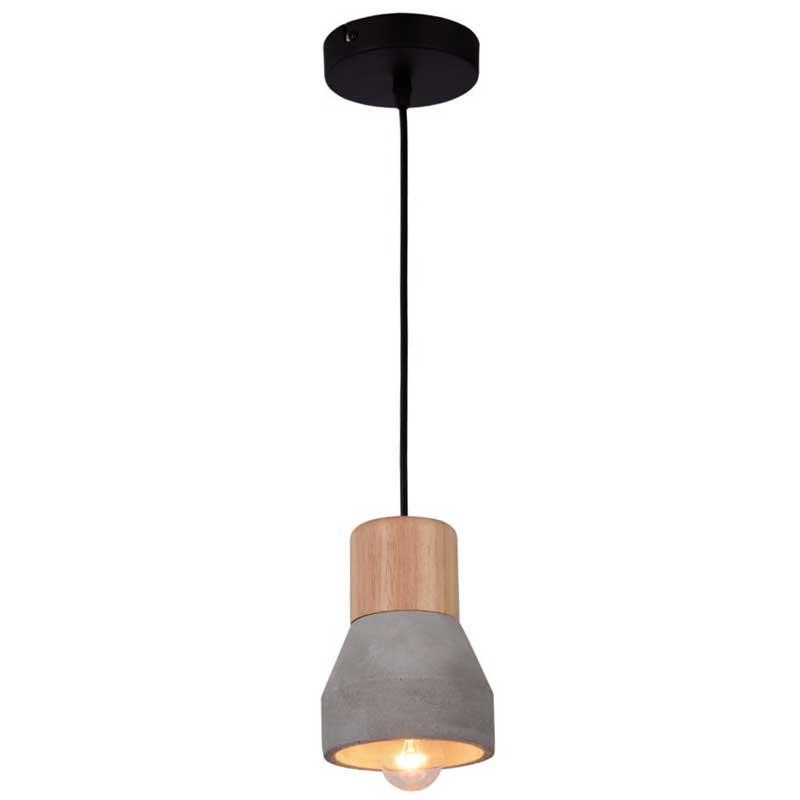 Φωτιστικό Majestic Μεταλλικό-Ξύλινο Μπεζ 955MAJESTIC1P/BG