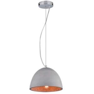 Φωτιστικό Ciment Τσιμεντένιο/Μεταλλικό 1 Φως Vintage 955Ciment1C