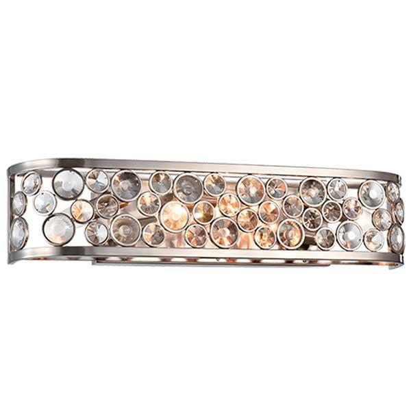 Απλίκα Djeny Με Κρύσταλλα LUX Χρώμιο 955Djeny5W Elmark