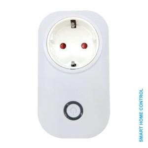 Ασύρματη Smart Πρίζα Σούκο σε Σούκο WiFi Elmark 195021 Μονοκάναλη 10A