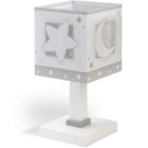 Ango 63231 E - MoonLight Gray κομοδίνου παιδικό φωτιστικό διπλού τοιχώματος